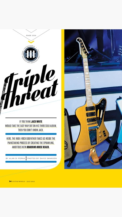 Guitar World Magazine review screenshots