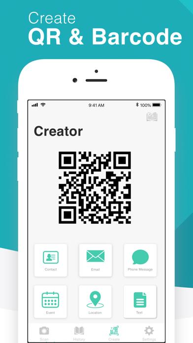 QR Code Reader - QrScan screenshot four