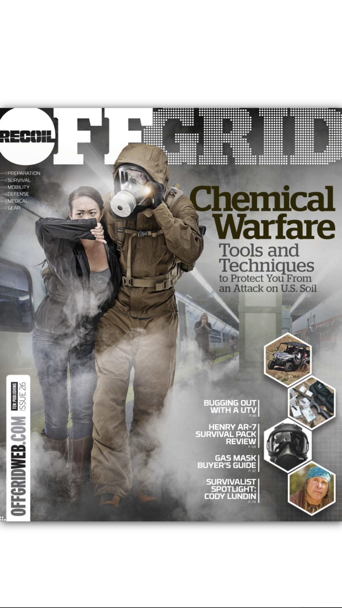 RECOIL OFFGRID Magazine Screenshot