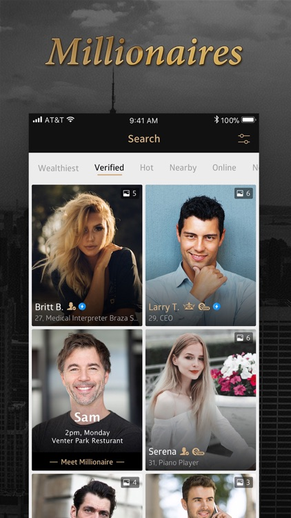 Luxy - Millionaire Dating App screenshot-0
