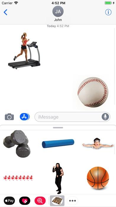 Sport Stickes! screenshot 1