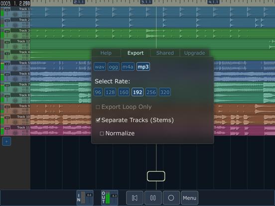 MultiTrack DAW screenshot