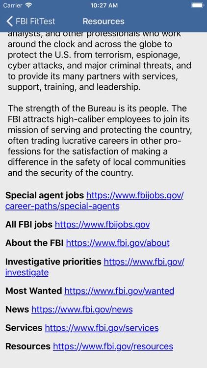 FBI FitTest screenshot-5