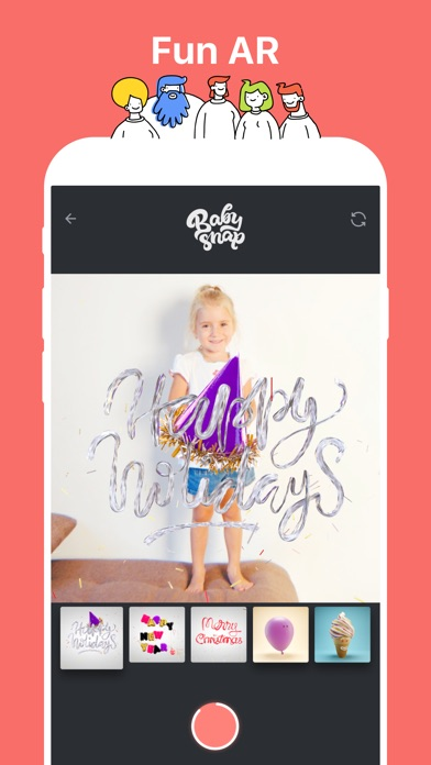 Baby Snap: Family Video Diary Screenshot on iOS