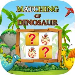 Matching Of Dinosaur :Matching