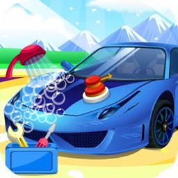Sports car wash - car care