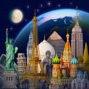 icone Terre 3D - Atlas du Monde