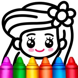 Drawing Games-Magic Color book