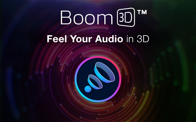 Boom3D: volume booster for Mac Screenshot