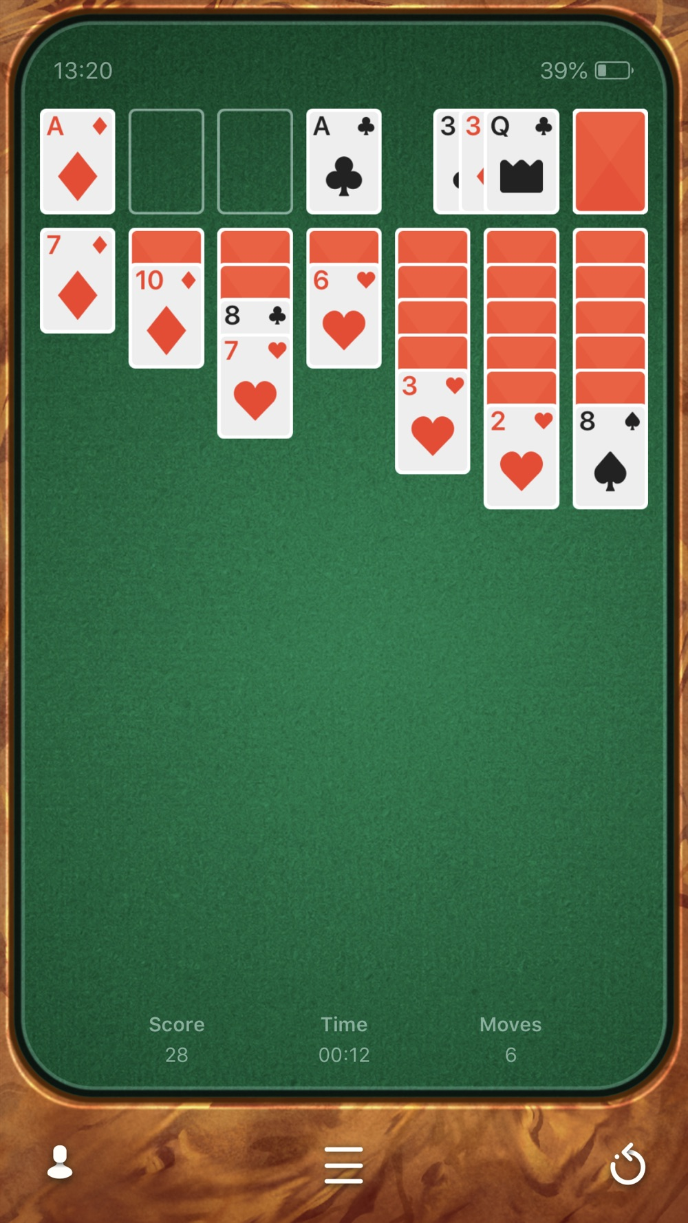 Solitaire Cheat Codes