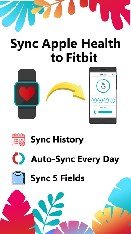 Sync For Apple Health > Fitbit