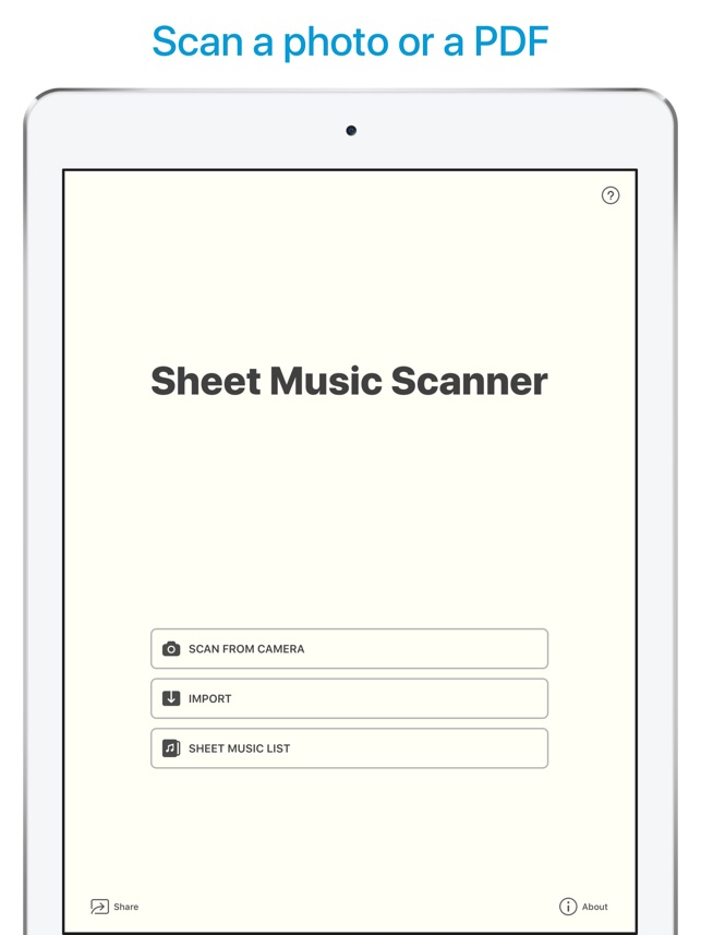 Sheet Music Scanner On The App Store