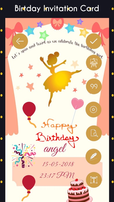 Birthday Invitation Cards Hd By Gopi Chauhan Ios United
