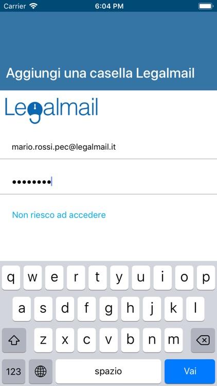 legalmail su iphone