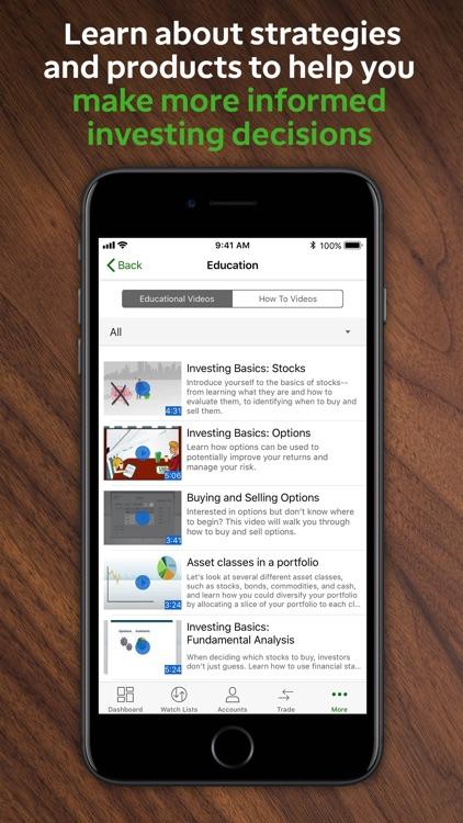 TD Ameritrade Mobile screenshot-6