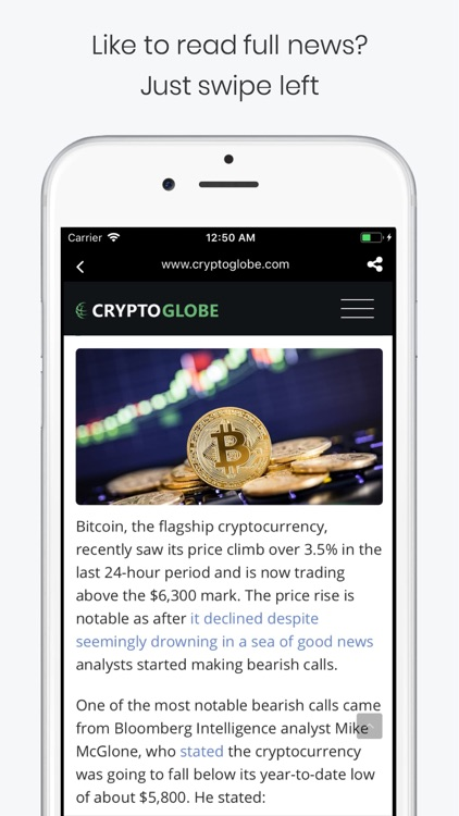 CryptoShorts - Crypto News App screenshot-7