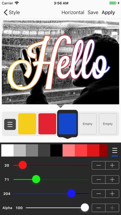 Phonto - Text on Photos screenshot-6