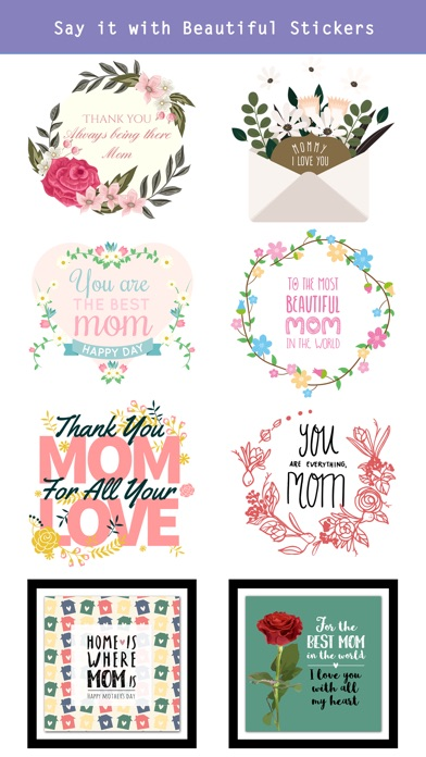 All about Mother's Day Sticker screenshot 3