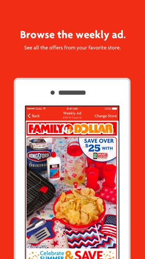 Family Dollar On The App Store