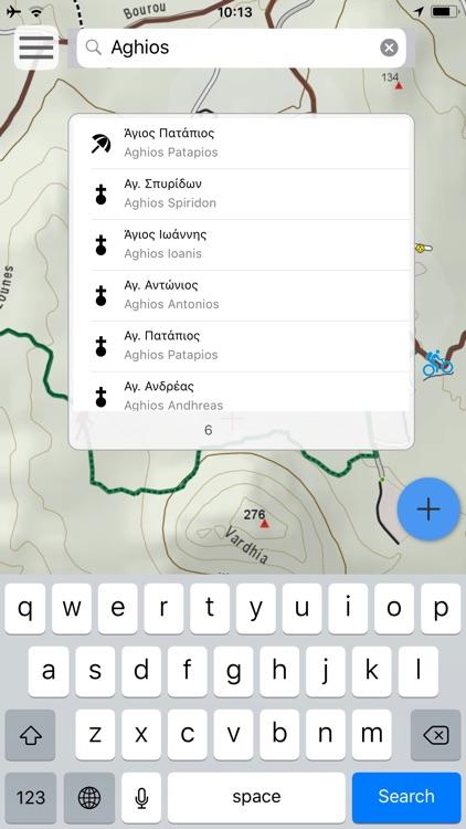 Elafonisos topoguide screenshot-8