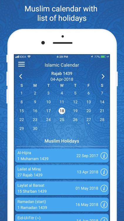 Ramadan Times 2019 PRO screenshot-6