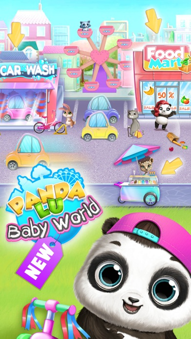 Panda Lu Baby Bear World screenshot 8