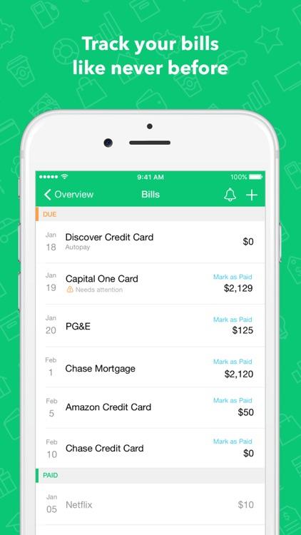 Mint:Personal Finance & Money screenshot-3