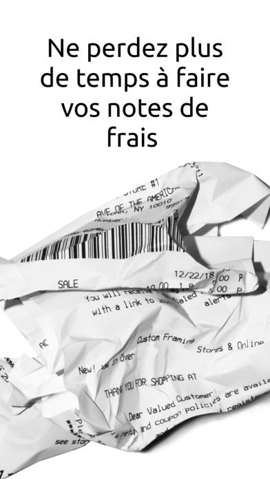 Screenshot #1 pour Jenji - Notes de Frais