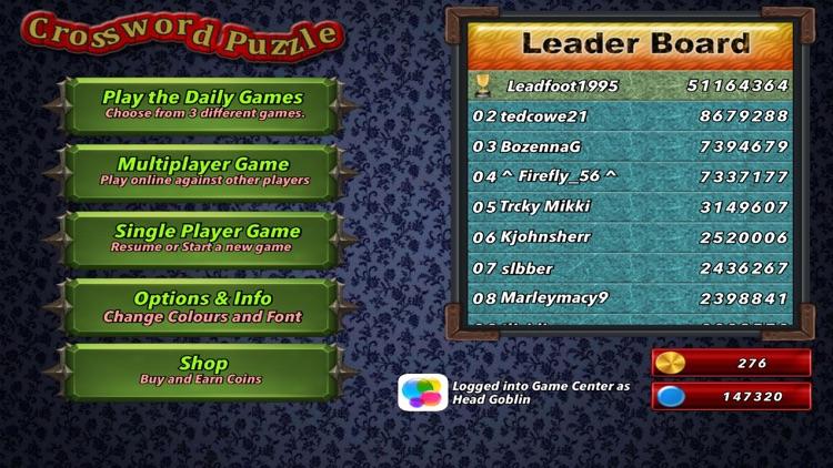 Multiplayer Crossword Puzzle screenshot-6