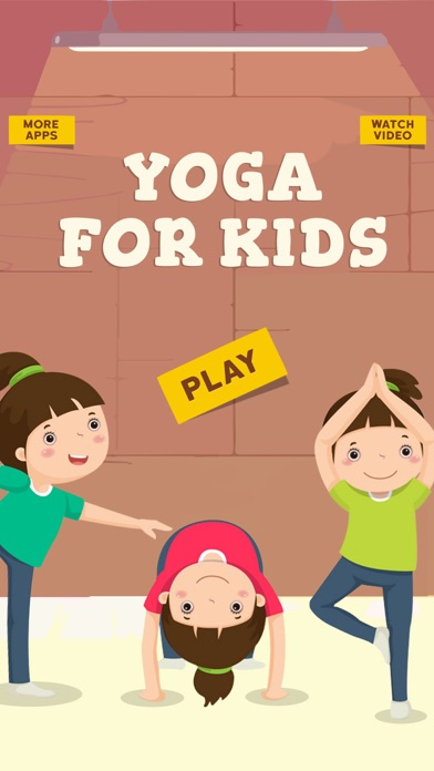 Yoga For Kids Daily Fitness screenshot one