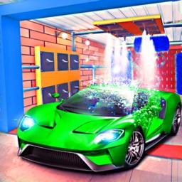 Smart Car Wash & Parking Sim
