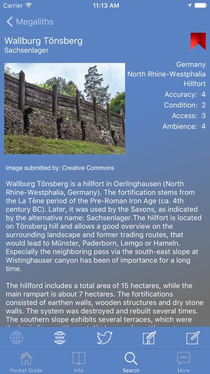 Pocket Guide Megaliths screenshot-4