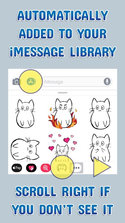 Meesh Animated Cat screenshot-4