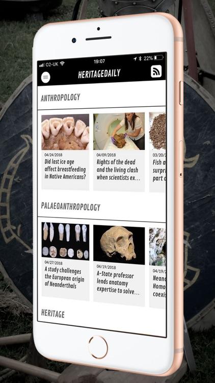 HeritageDaily Magazine screenshot-3