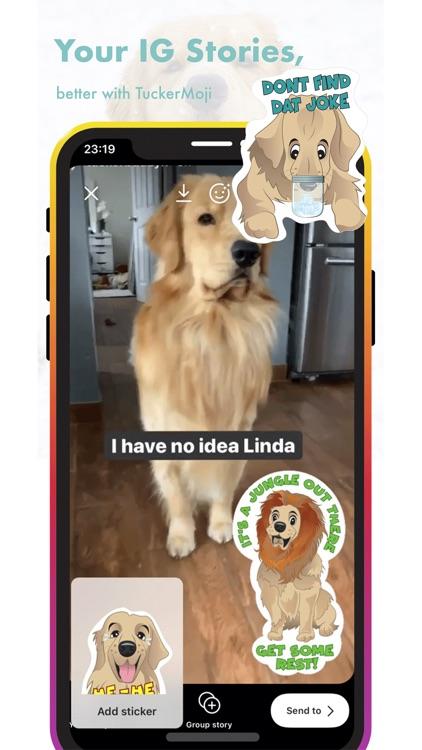 TuckerMoji - Tucker Budzyn Dog screenshot-7