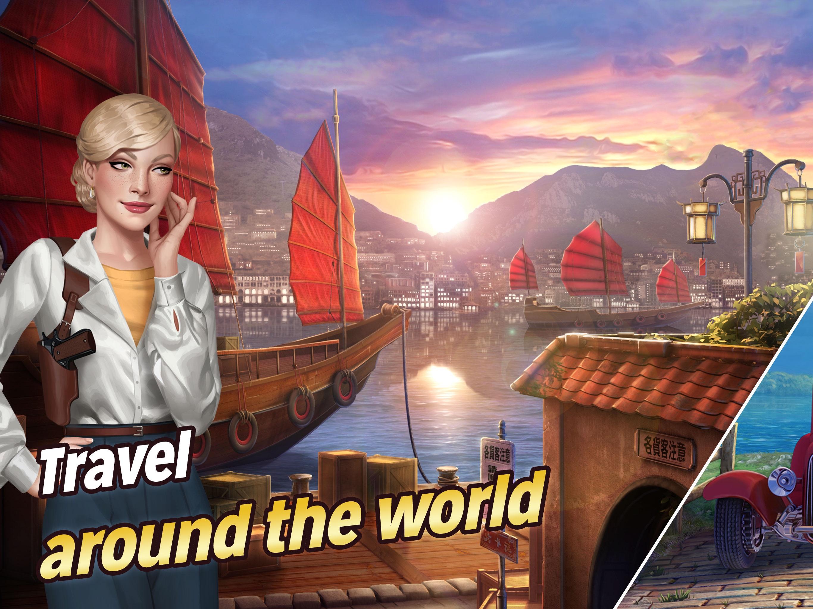 Pearl's Peril: Hidden Objects Screenshot