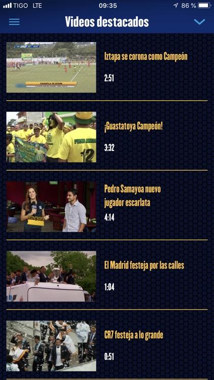 Tigo Sports Guatemala screenshot-4