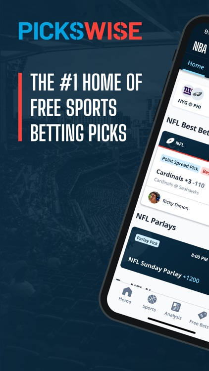 Pickswise Sports Betting screenshot-0