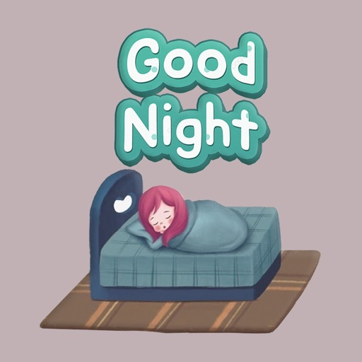Sweet Good Night Stickers