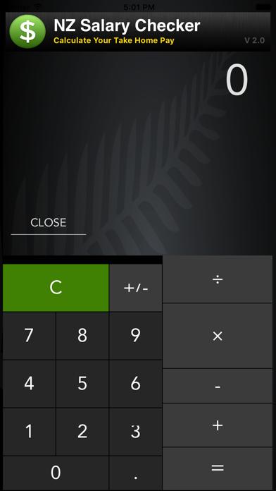 NZ Salary Checker screenshot two