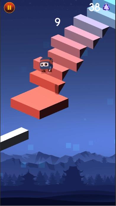 Прыжок Падение Ниндзя