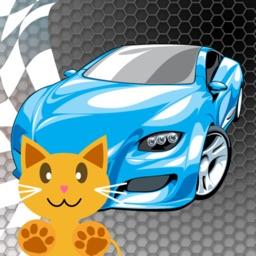 Bumper Slot Car Race game QCat