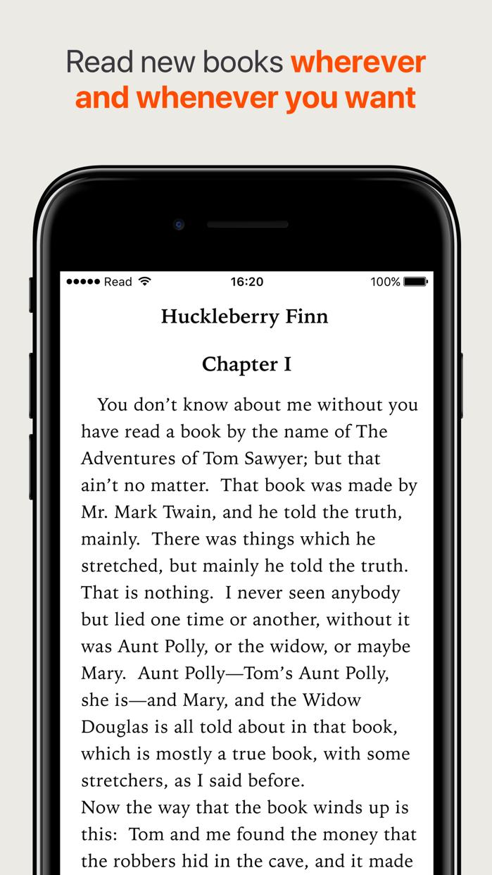 Read the best books online Screenshot