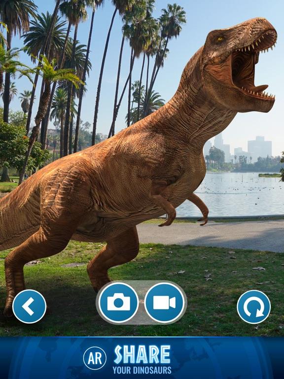 Jurassic World Alive screenshot 10
