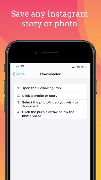 WatchApp for Instagram App Screenshots