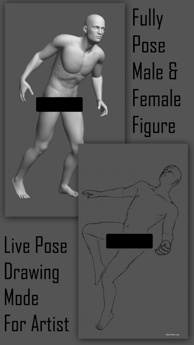 Pose Tool 3D by Junaid Khan (iOS, United States) - SearchMan App