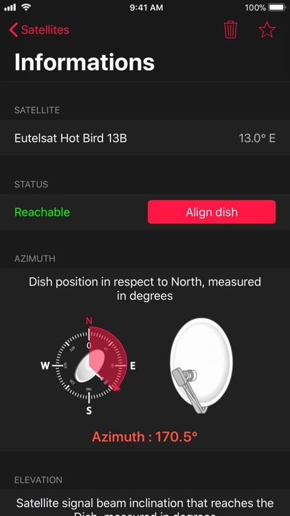 Satellite Pointer - Dish Setup