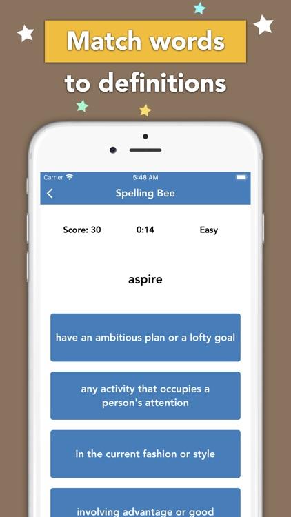 Spellbee: Spelling Bee Games screenshot-9