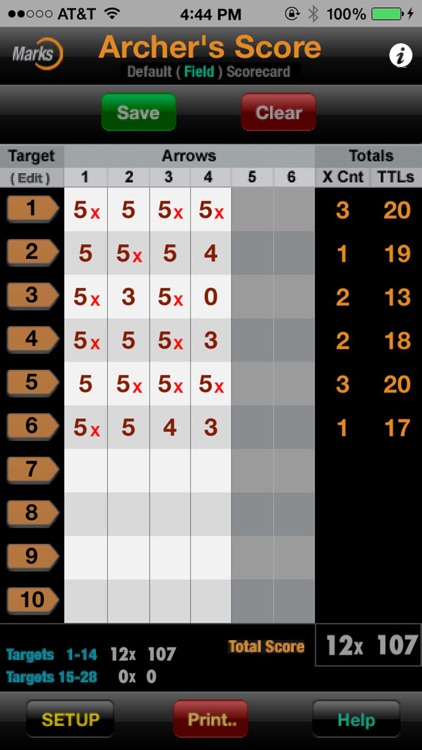 Archer's Score screenshot-2