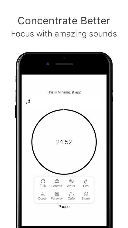 MinimaList- To Do List &Widget screenshot-3